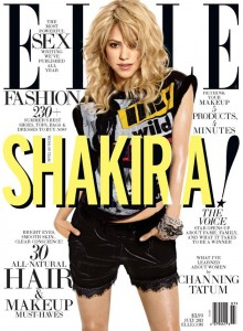 Shakira Elle magazine