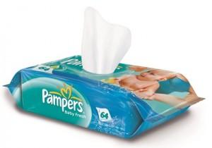 Pack shot_servetele umede Pampers Baby Fresh