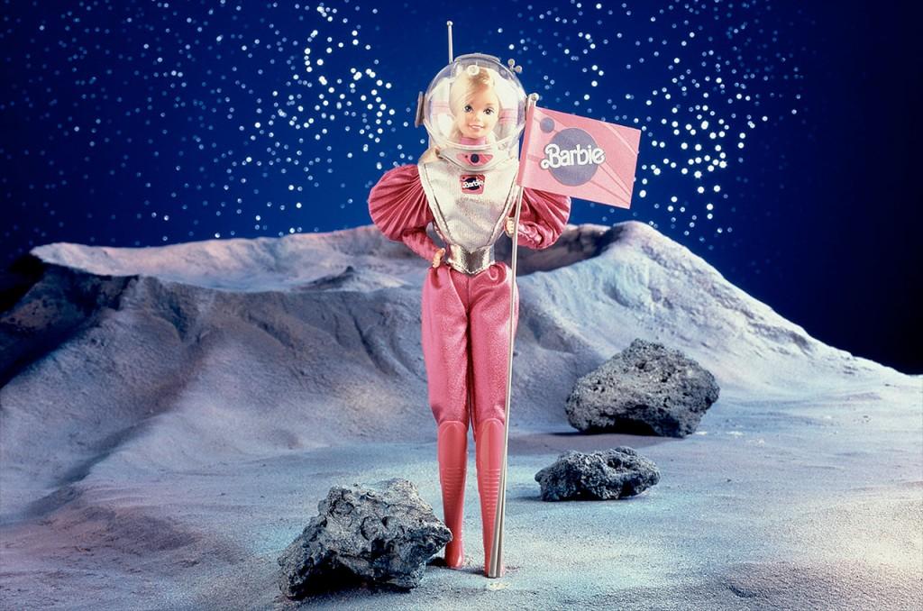 Barbie astronaute, desormais prete pour aller sur Mars