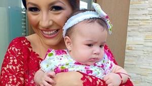 Andra, nasa la botezul fetitei lui Pepe