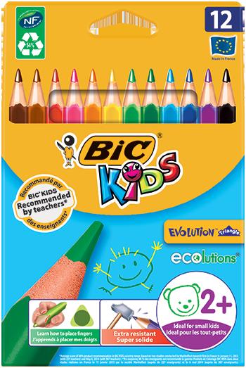Creioane de colorat BIC Kids
