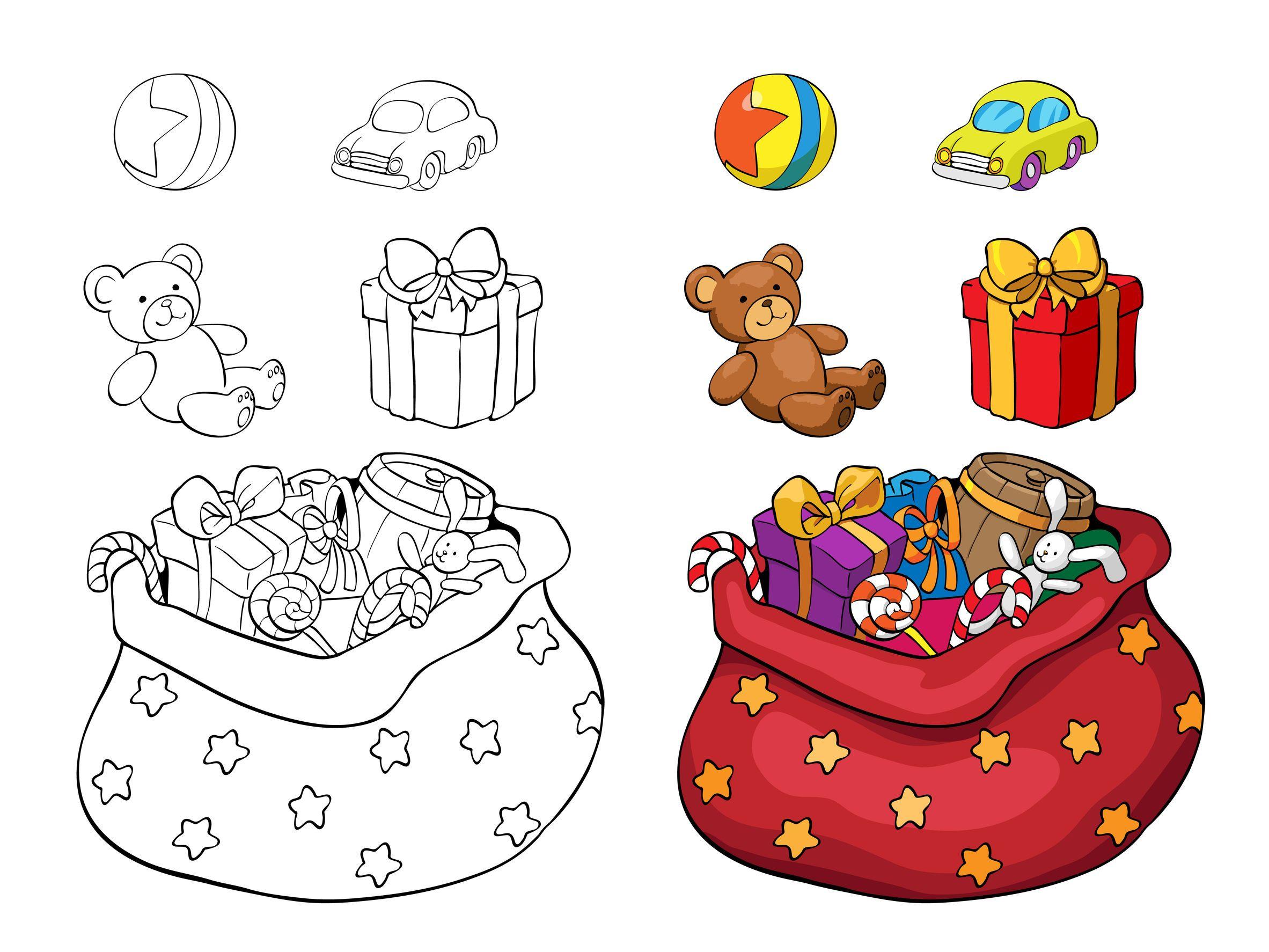 Planșe De Colorat Pentru Crăciun Revista Baby Pentru