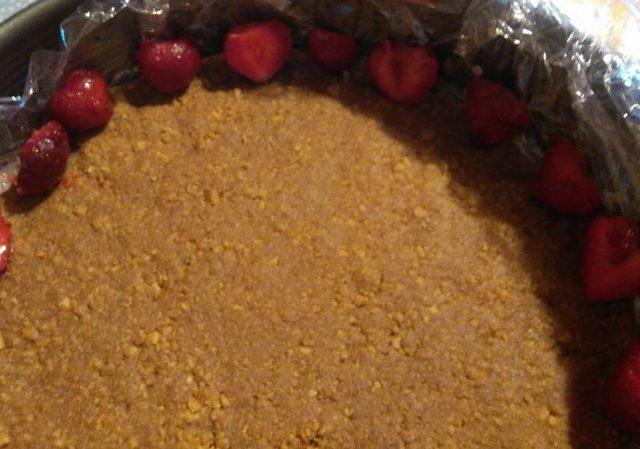 Cheesecake fără gelatină și fără coacere