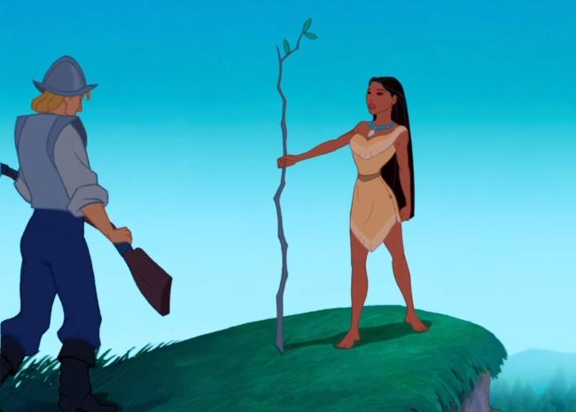 Captura Pocahontas