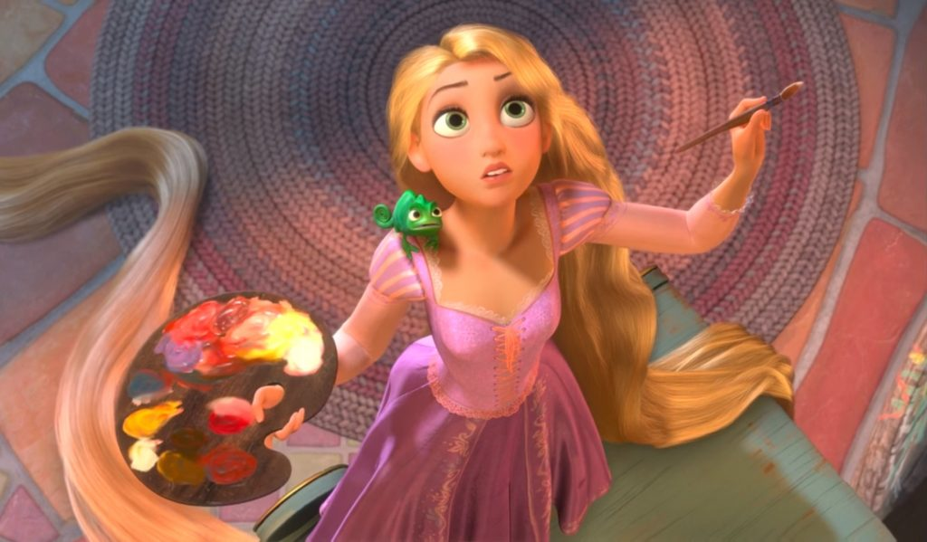 captura Rapunzel