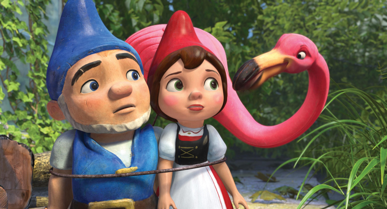 Gnomeo si Julieta Sherlock Gnomes