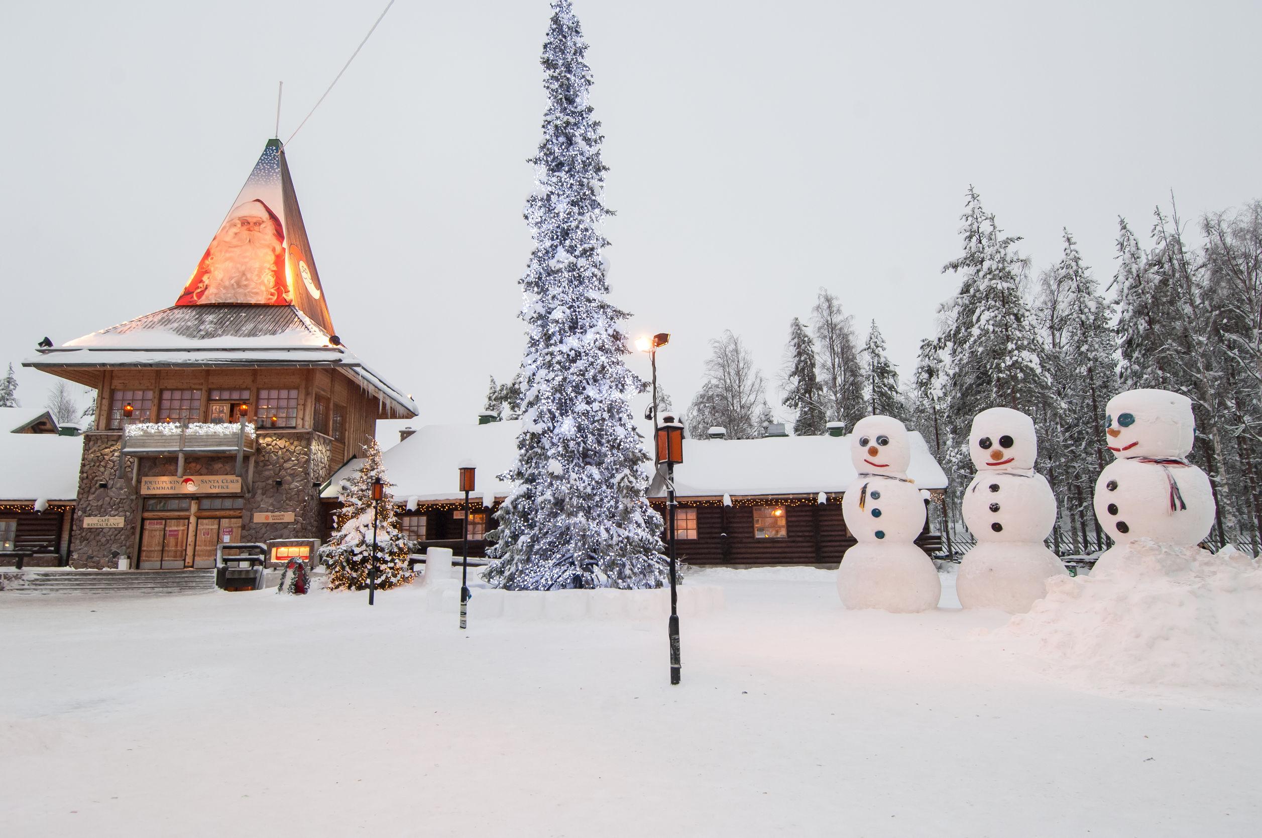Acesta este orasul lui Mos Craciun - Rovaniemi, Finlanda
