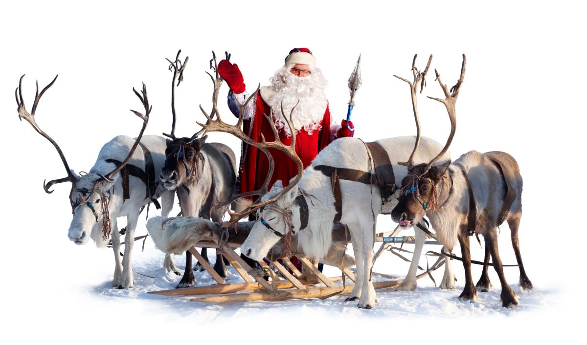 Dasher, Dancer, Prancer, Vixen, Comet, Cupid, Donner, Blitzen și Rudolph sunt renii lui Mos Craciun. Afla povestea lui Mos Craciun