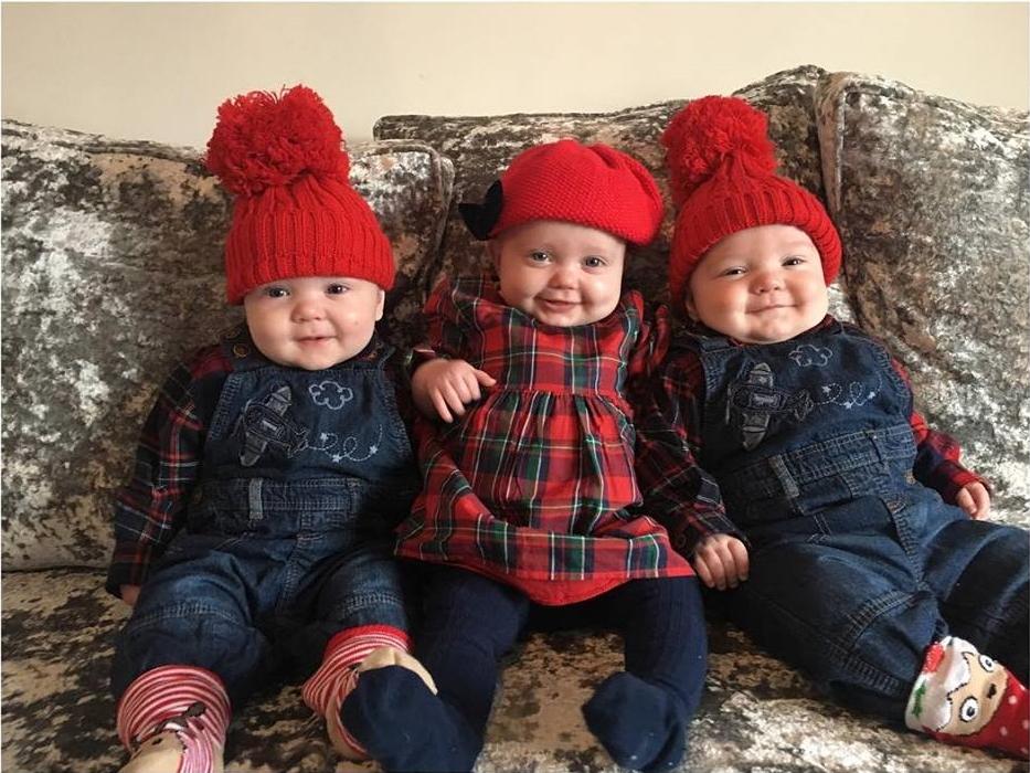 A ramas insarcinata cu tripleti, desi lua contraceptive de ani buni