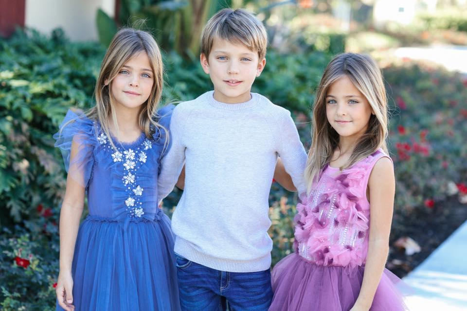 Au 7 ani si sunt considerate cele mai frumoase gemene din lume. Cum arata acum - Galerie foto 4