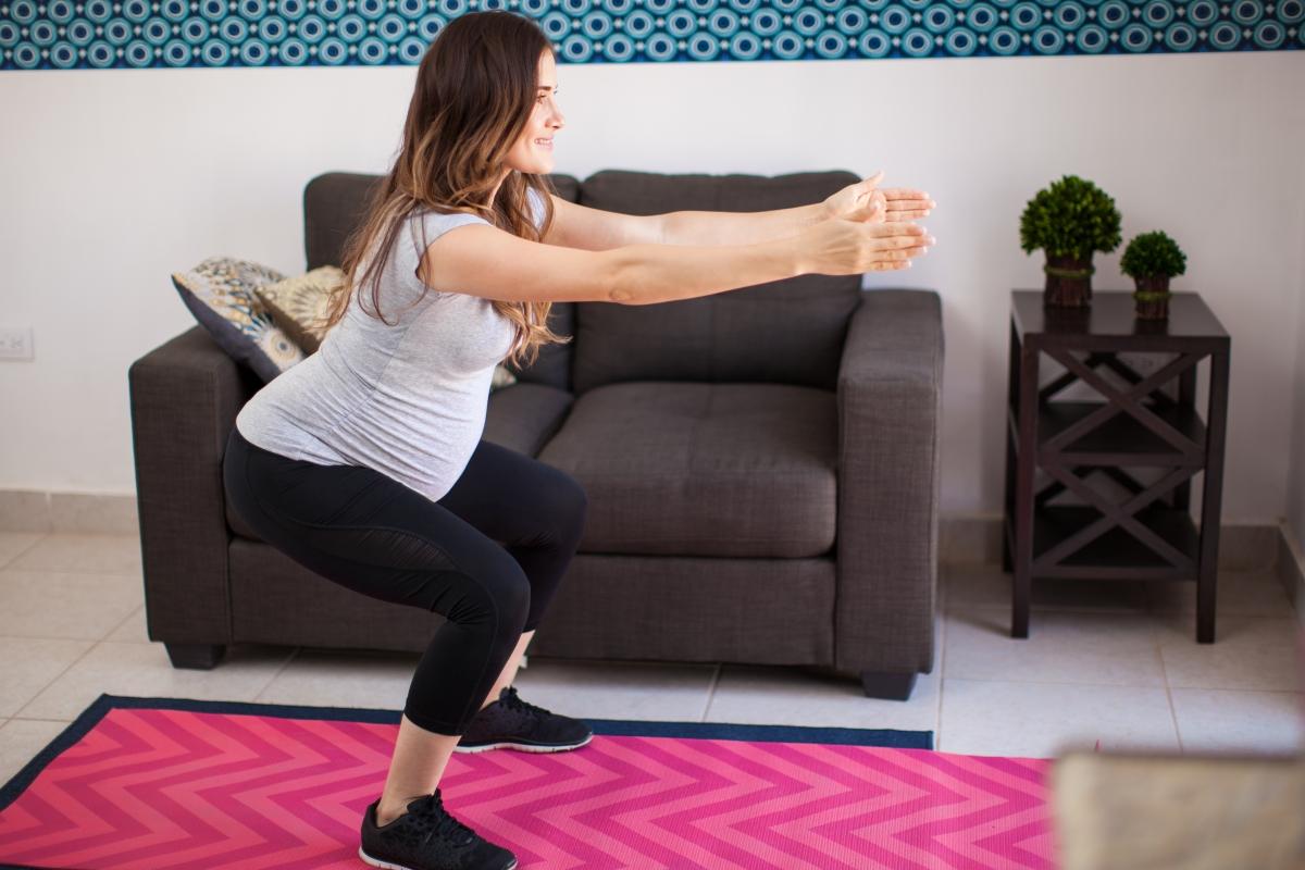 Exercitii pentru un abdomen plat dupa sarcina 3