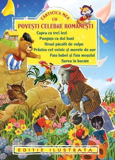 cărți de povești pentru copii. cărți cu povești românești pentru copii