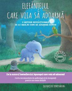 cărți de povești pentru copii. elefănțelul care voia să adoarmă este o carte de povești pentru copii