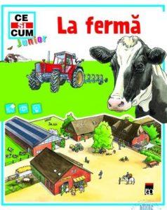 cărți de povești pentru copii. la fermă este o carte educativă
