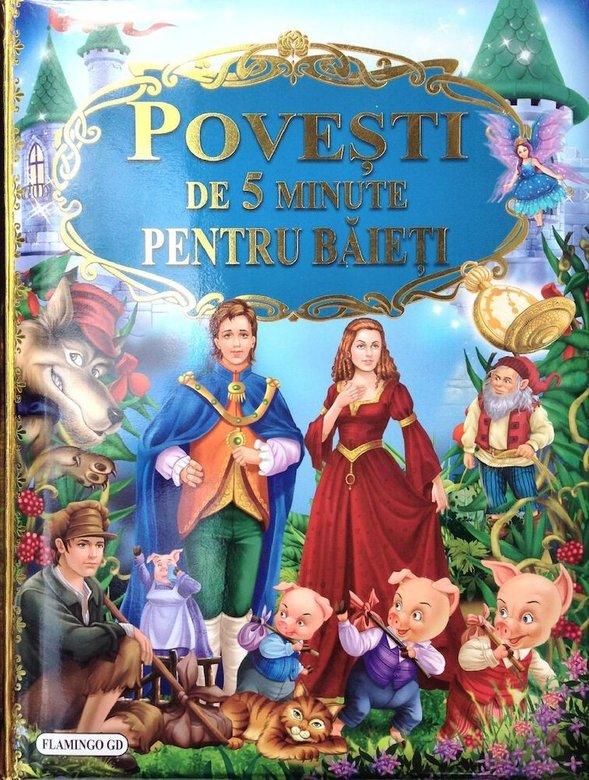cărți de povești pentru copii. povești de 5 minute pentru băieți