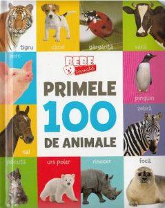 cărți de povești pentru copii. primele mele 100 de animale este o carte educativă pentru cei mici
