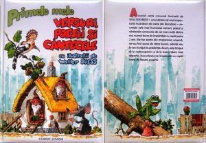 cărți de povești pentru copii. primele mele versuri, poezii și cântece este o carte pentru copii