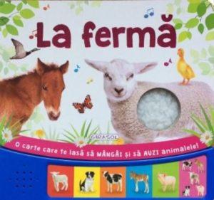 carți de povești pentru copii. la fermă este o carte pentru copii educativă
