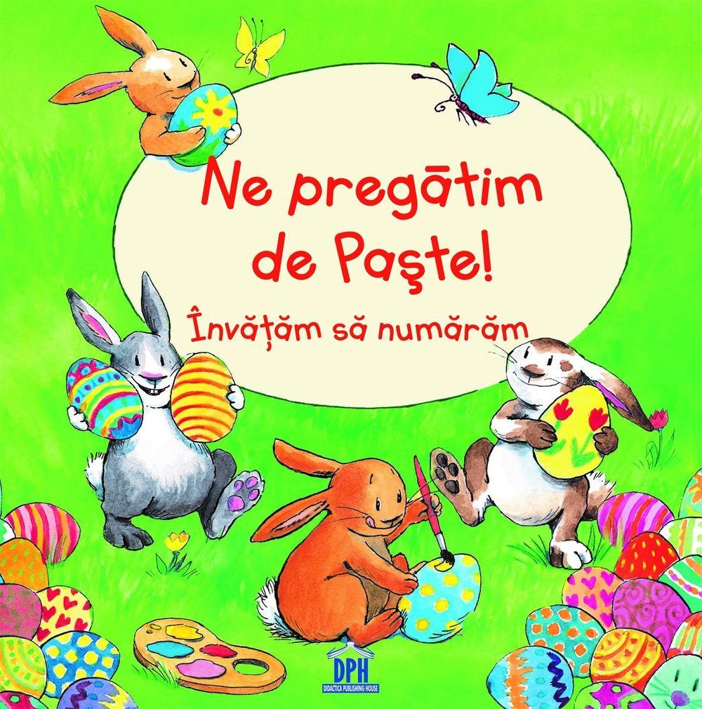 Cadouri de Paște pentru copii-carte despre cum învăți să numeri