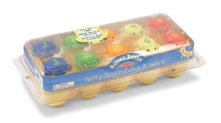 Cadouri de Paște pentru copii-joc de îndemânare cu ouă și broscuțe