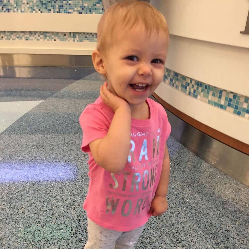 A fost diagnosticata cu cancer la doar 15 luni si i s-au dat 50% sanse de supravietuire 3