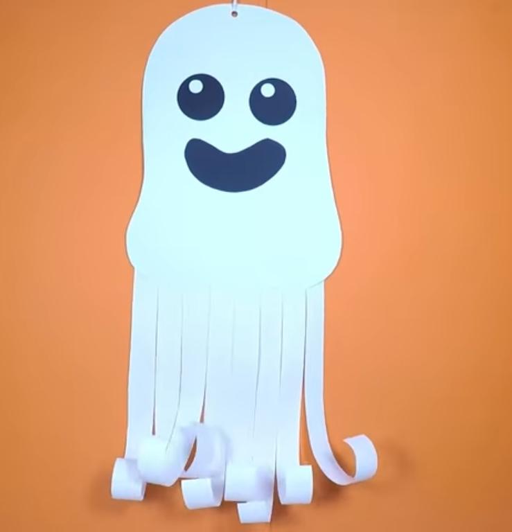 decoratiuni halloween fantoma