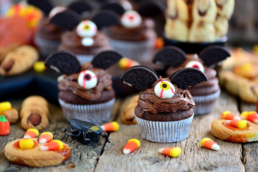 Briose vampiri cu ciocolata, de Halloween