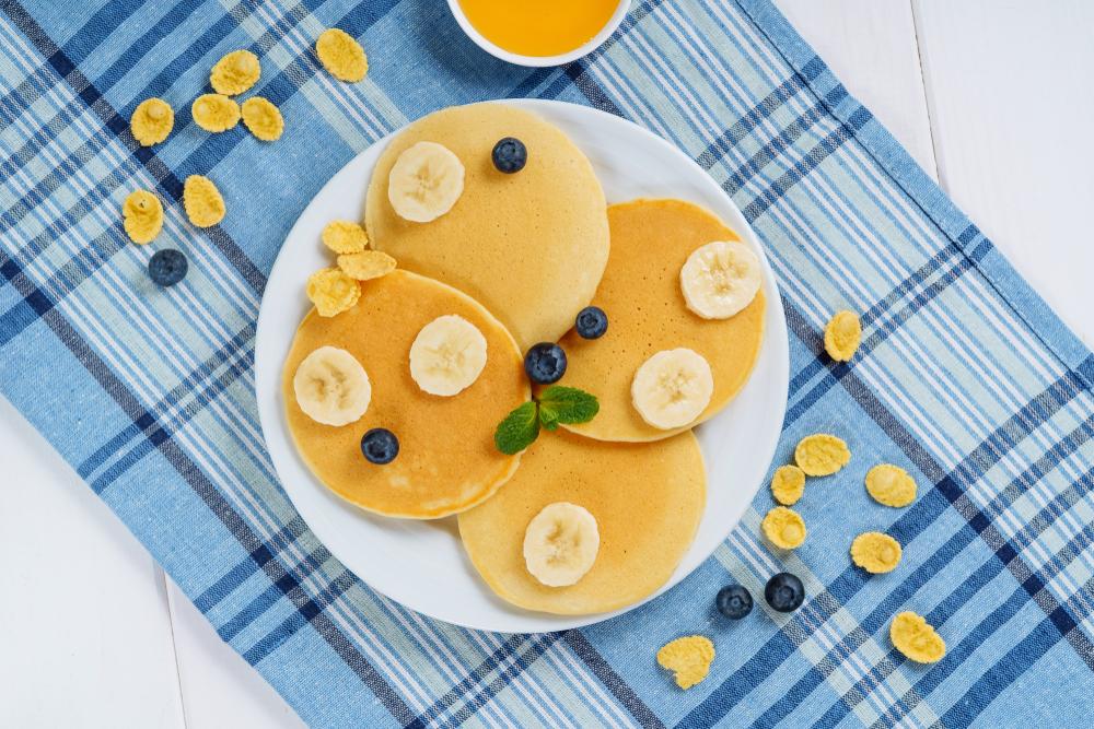 Clătite cu banane