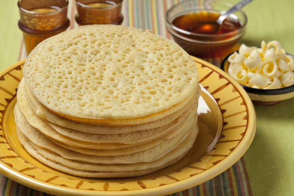 Clătite marocane cu griș