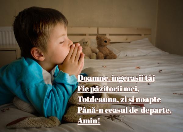 Rugăciune pentru copii