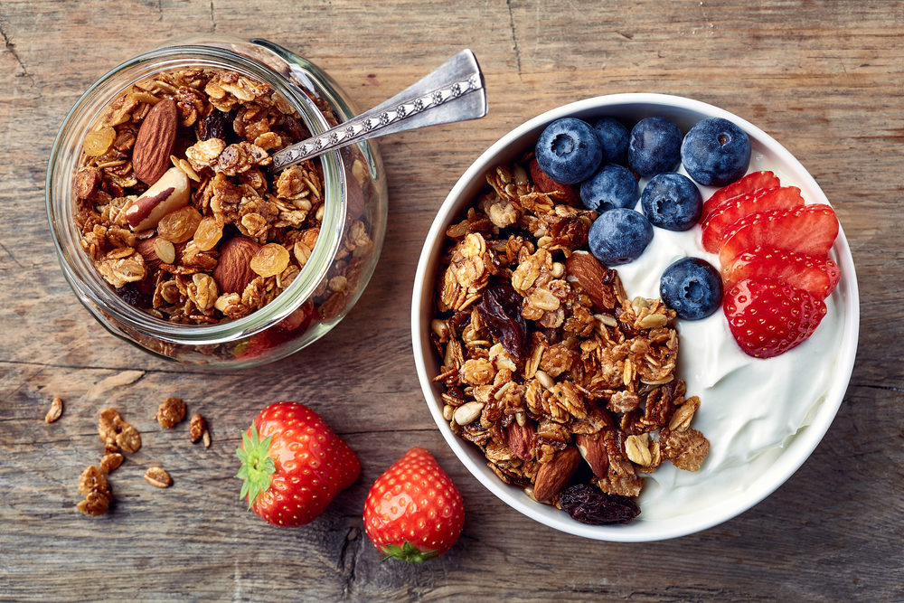 Idei de mic dejun - granola