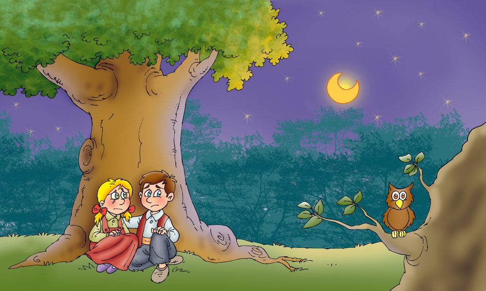 Hansel și Gretel -Fratii si Grimm