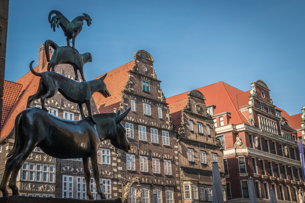 Statuia Muzicanții din Bremen