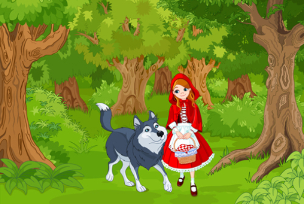Scufița Roșie- Frații Grimm